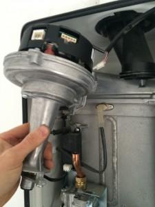 boiler-service-fan-removal